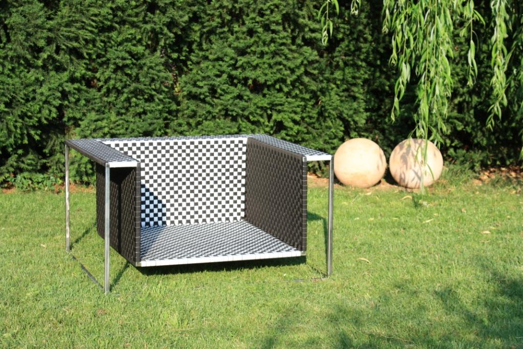 Deuker Germany DG Air Stainless Steel Outdoor Furniture