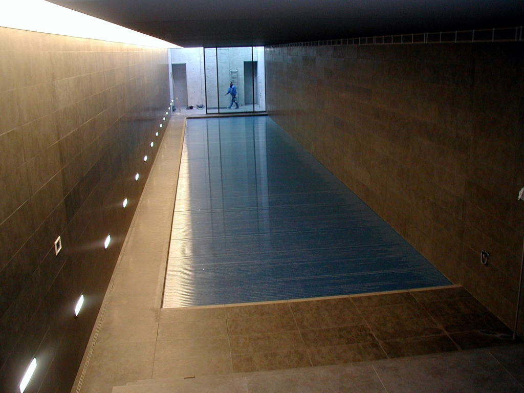 Indoor Outdoor Pool Residential Indoor Outdoor Automatic Energy Saving Pool Covers By Pool Cover