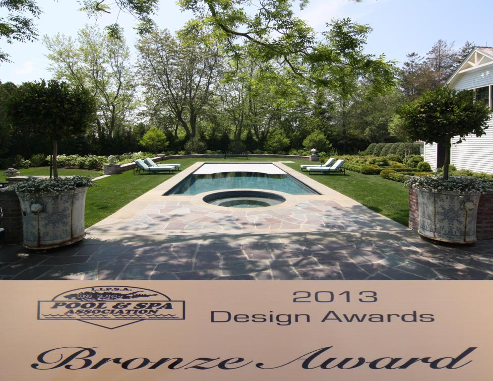 Covertech Grando automatic pool cover Award Bronze Long Island and SPA Association