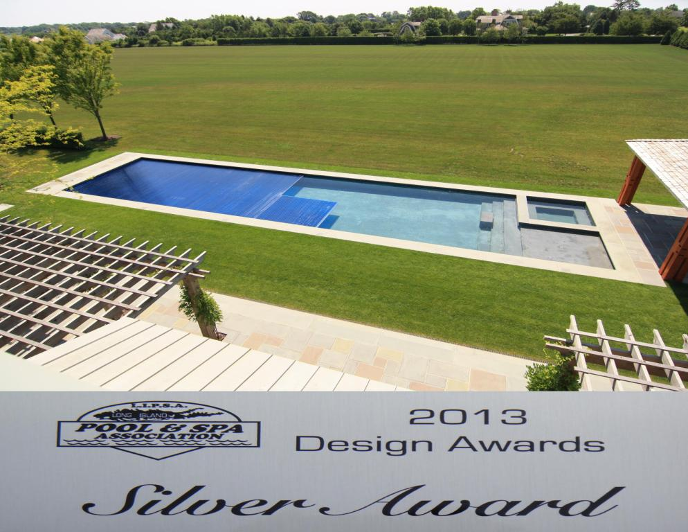 Covertech Grando automatic pool cover Award Silver Long Island and SPA Association