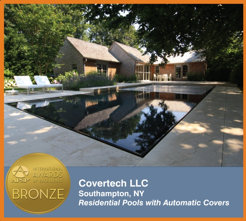 Covertech Grando automatic rigid pool cover International pool cover APSP Bronze 01 Award 2014
