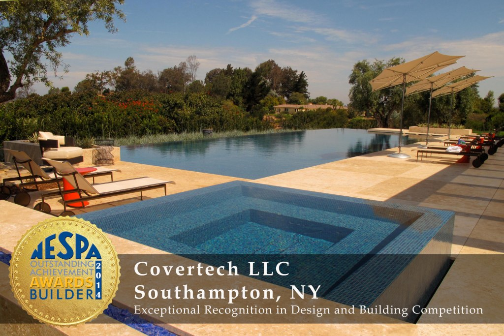 Covertech Grando automatic pool cover NE Pool SPA Gold1 Award 2014